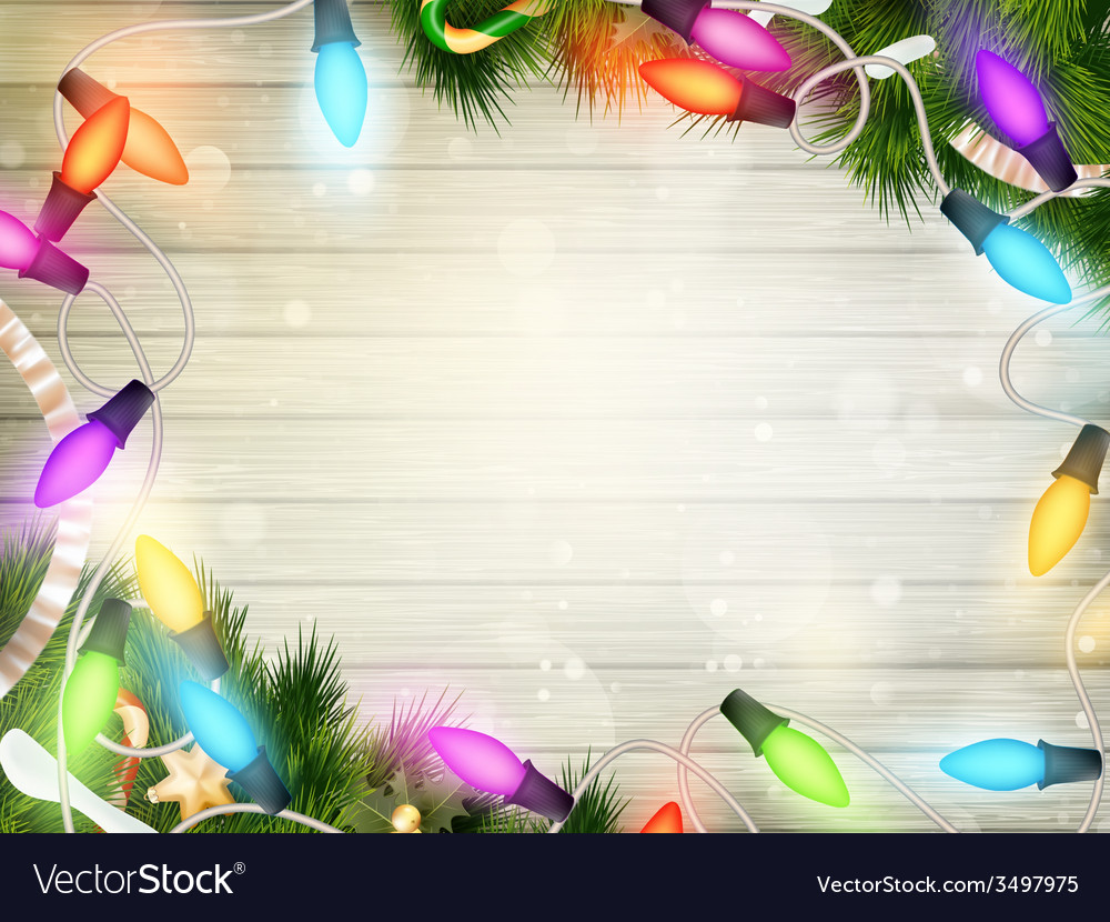Holidays with christmas decor eps 10 vector | Price: 1 Credit (USD $1)