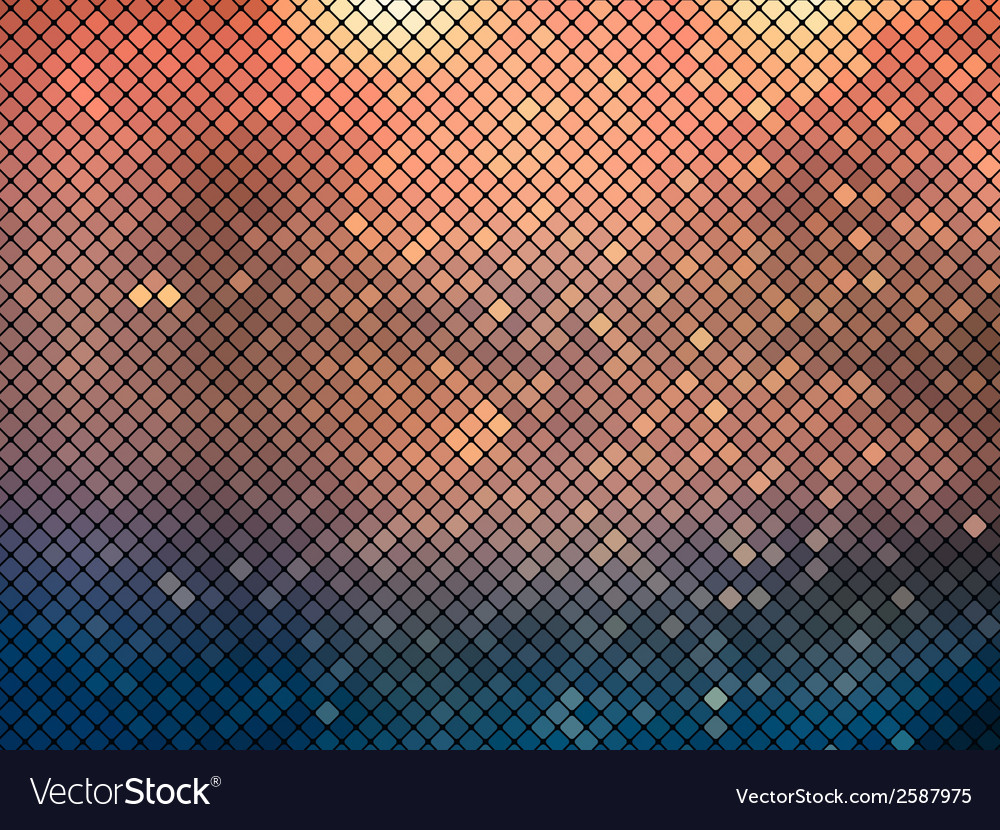 Metallic mosaic background vector | Price: 1 Credit (USD $1)