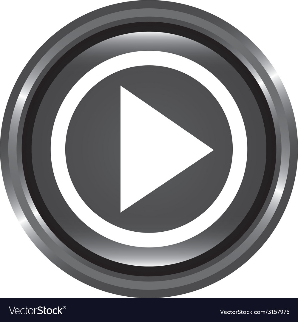 Play button design vector | Price: 1 Credit (USD $1)