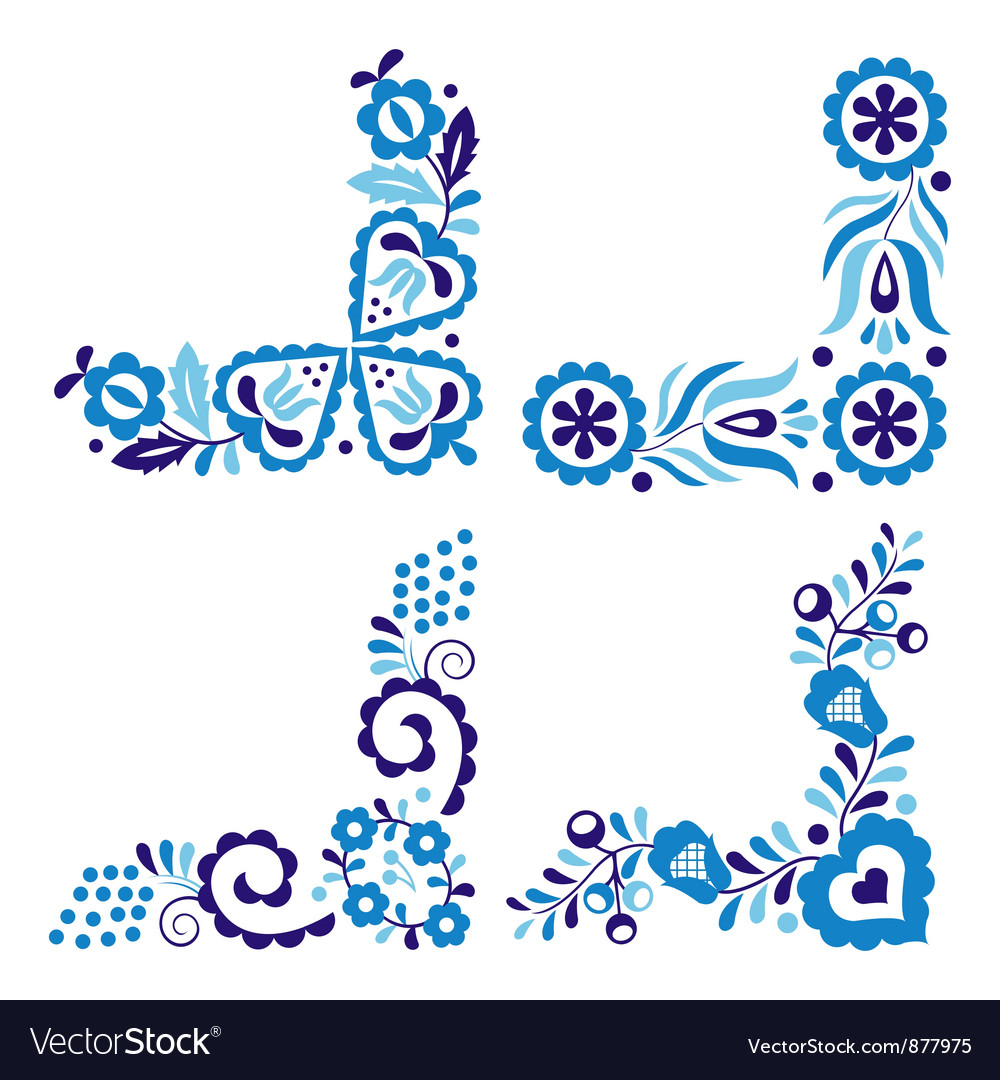 Traditional folk patterns vector | Price: 1 Credit (USD $1)