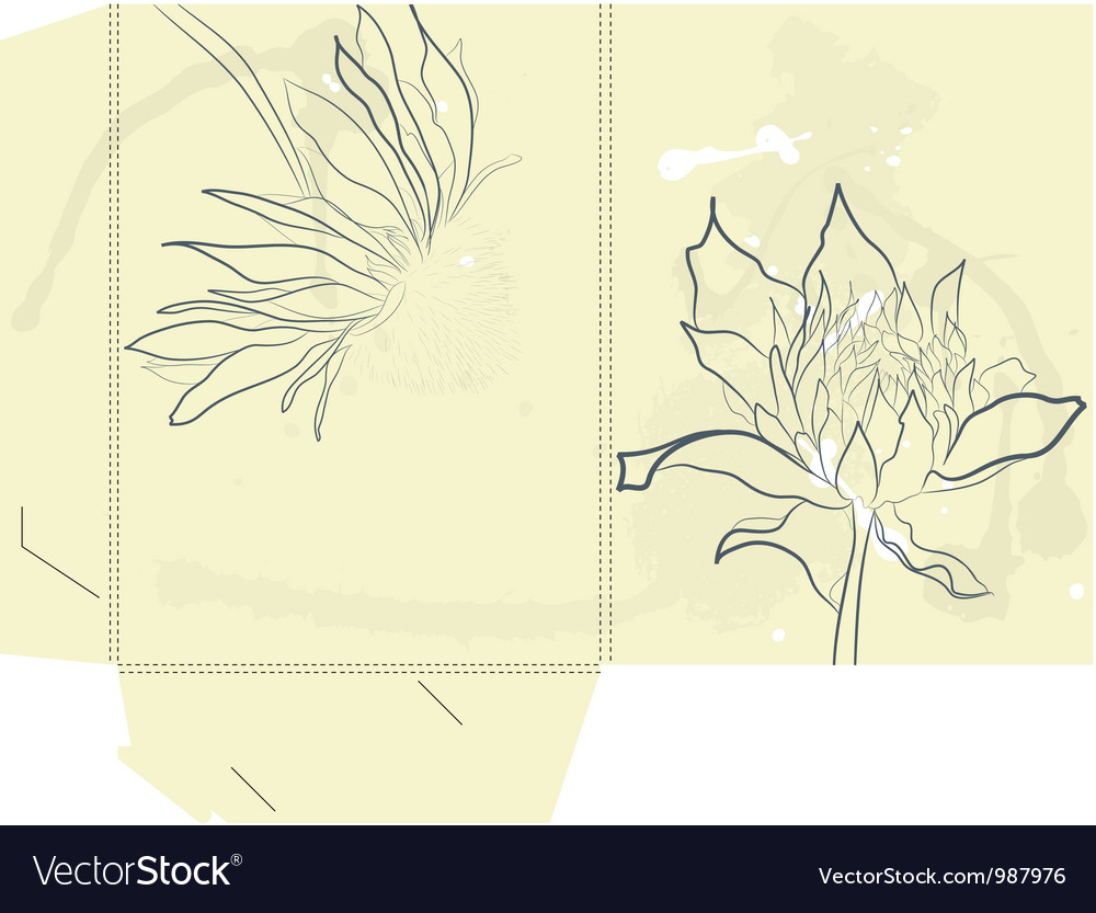 Template for folder vector | Price: 1 Credit (USD $1)