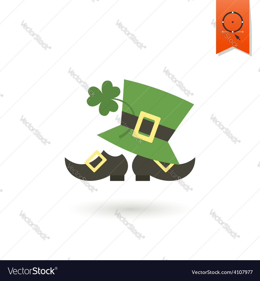 Saint patricks day icon vector | Price: 1 Credit (USD $1)