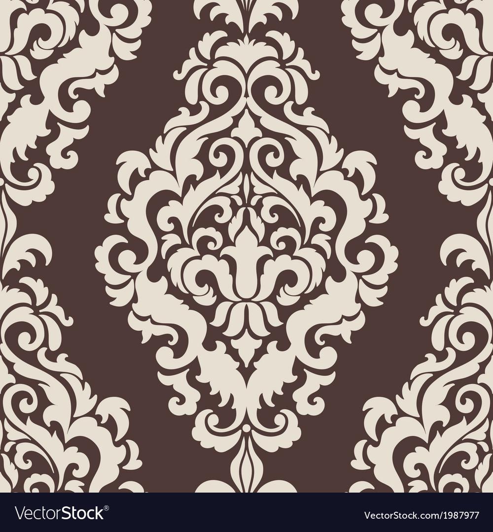 Vintage damask seamless pattern element vector   Price: 1 Credit (USD $1)