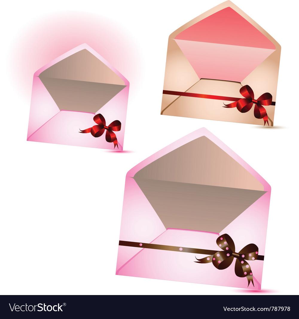 Celebratory envelopes vector | Price: 1 Credit (USD $1)