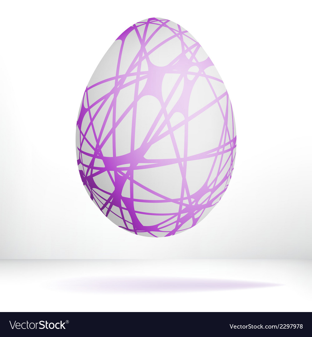 Egg isolated on white background  eps8 vector | Price: 1 Credit (USD $1)