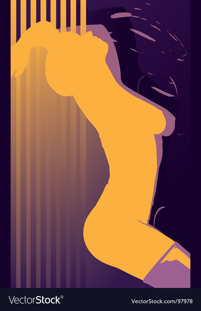 Erotic girl abstract vector | Price: 1 Credit (USD $1)
