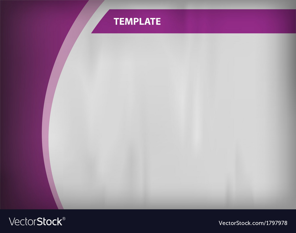 Template purple curve side vector | Price: 1 Credit (USD $1)