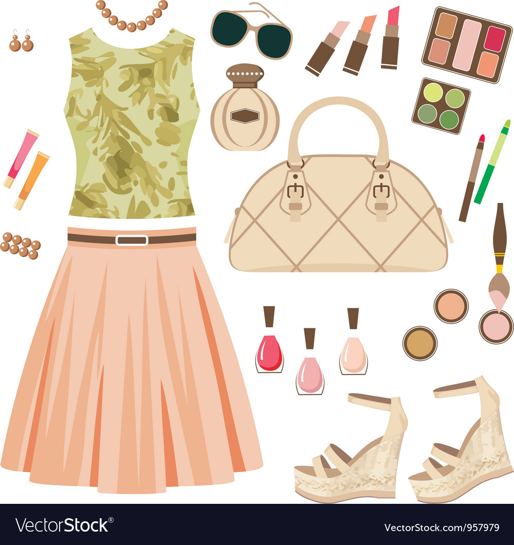 Fashion set vector | Price: 3 Credit (USD $3)