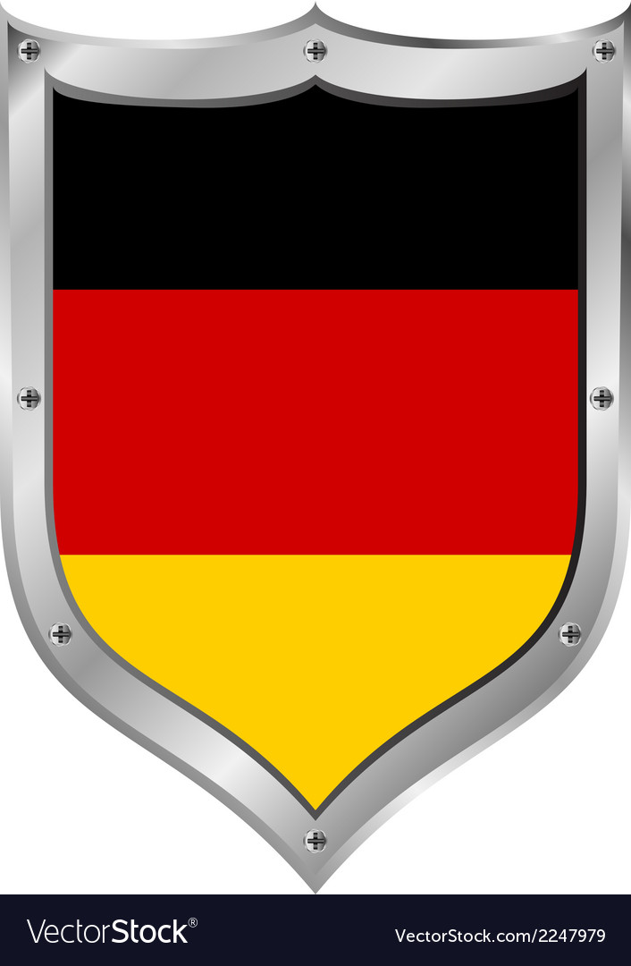 German flag button vector | Price: 1 Credit (USD $1)