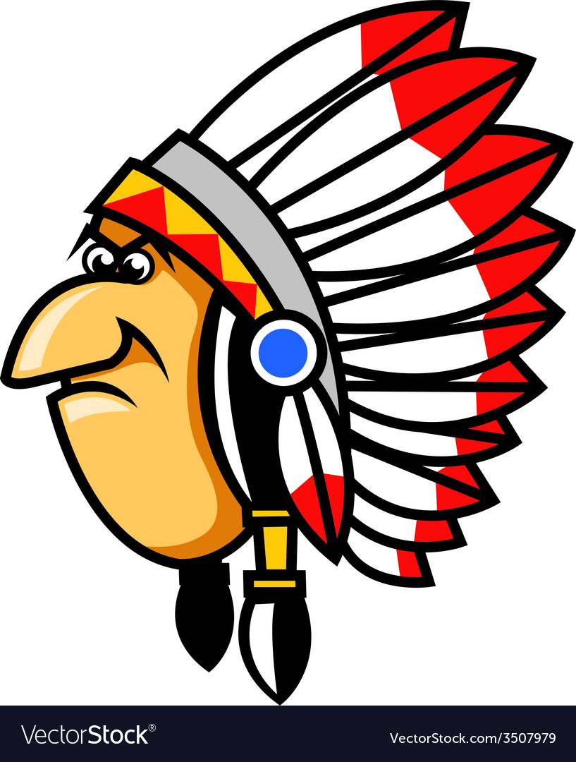 Grumpy indians vector | Price: 1 Credit (USD $1)