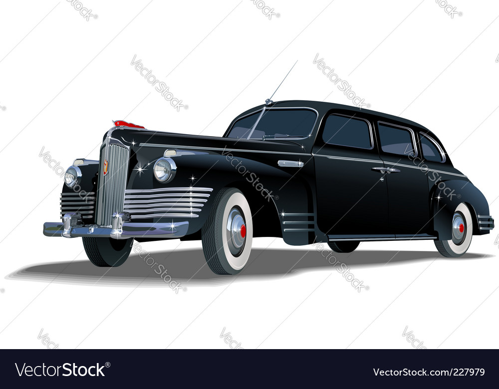 Limousine vector | Price: 5 Credit (USD $5)