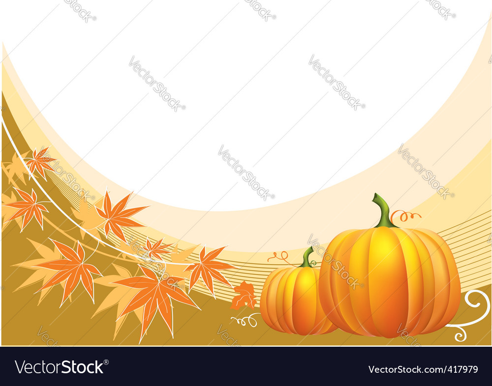 Thanksgiving border vector | Price: 1 Credit (USD $1)