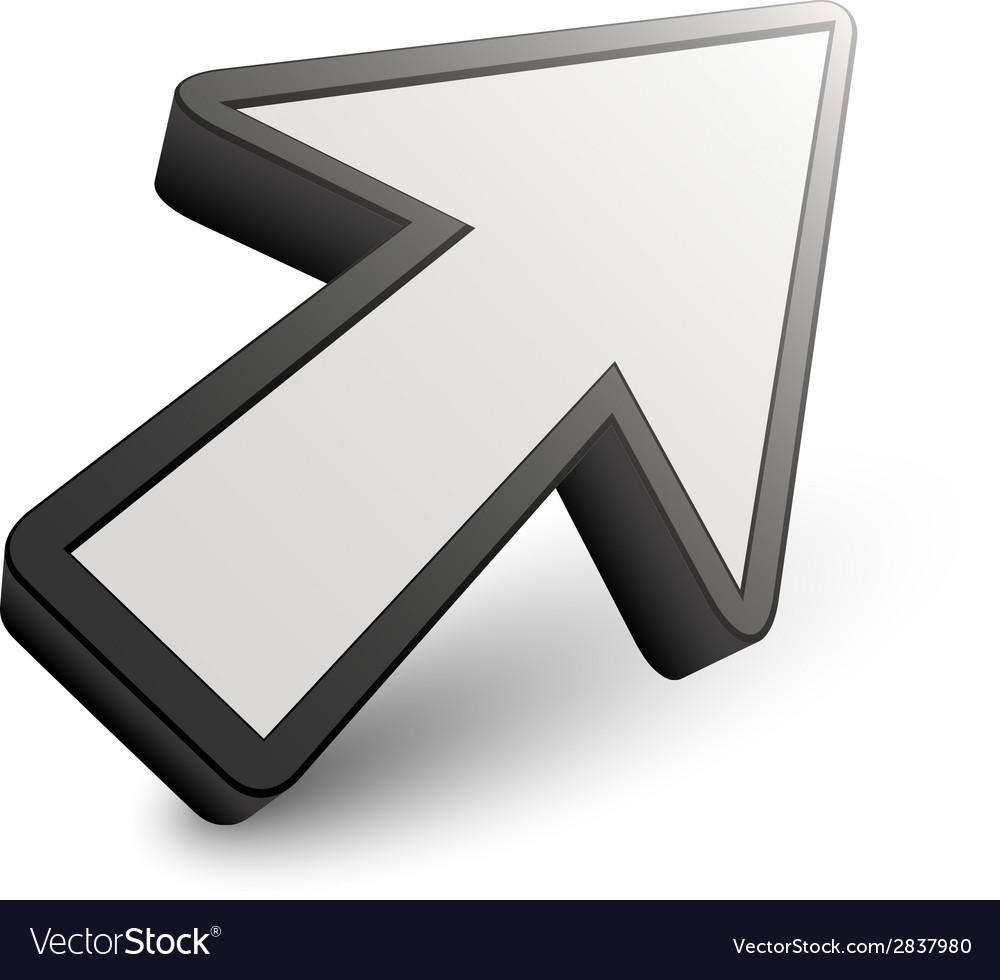 3d arrow pointer vector   Price: 1 Credit (USD $1)