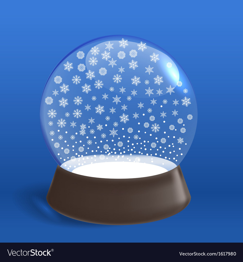 Winter snowfall ia winter ball vector   Price: 1 Credit (USD $1)