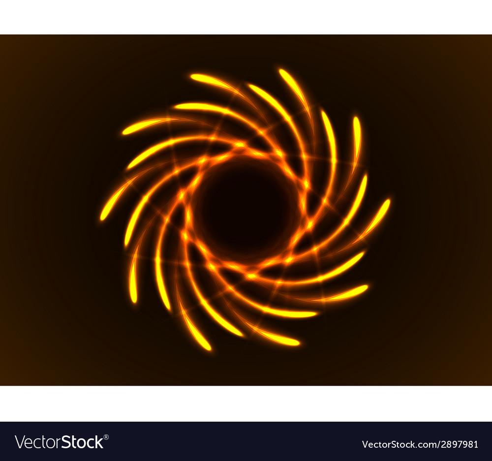 Rainbow abtract element vector | Price: 1 Credit (USD $1)
