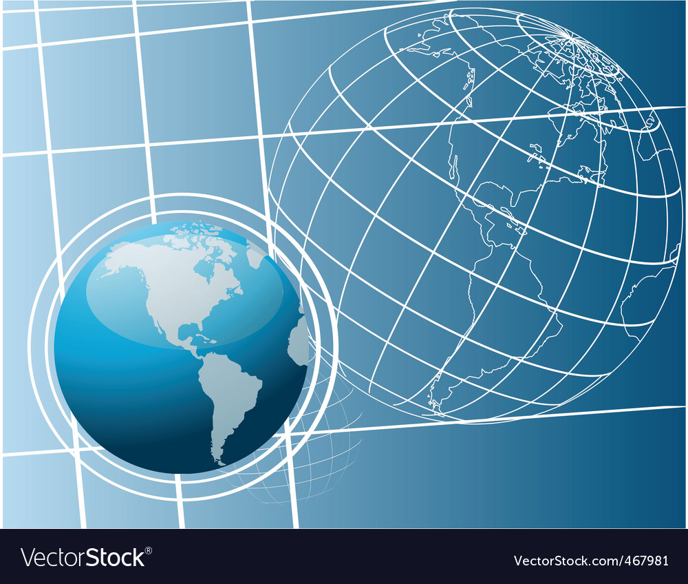 World drawing vector | Price: 1 Credit (USD $1)