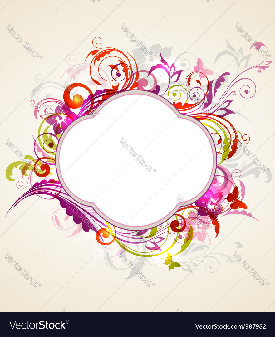Label swirl vector | Price: 1 Credit (USD $1)