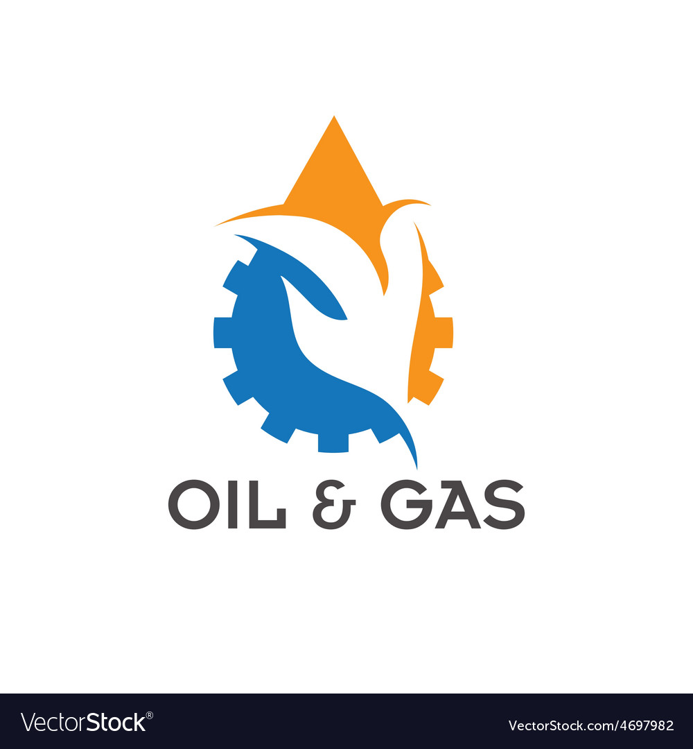 Oil and gas industry design template vector | Price: 1 Credit (USD $1)