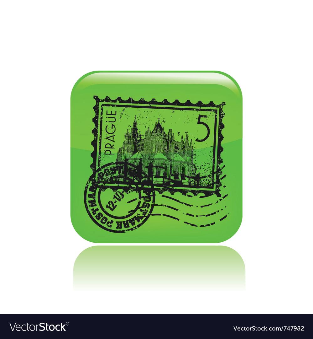 Prague icon vector | Price: 1 Credit (USD $1)