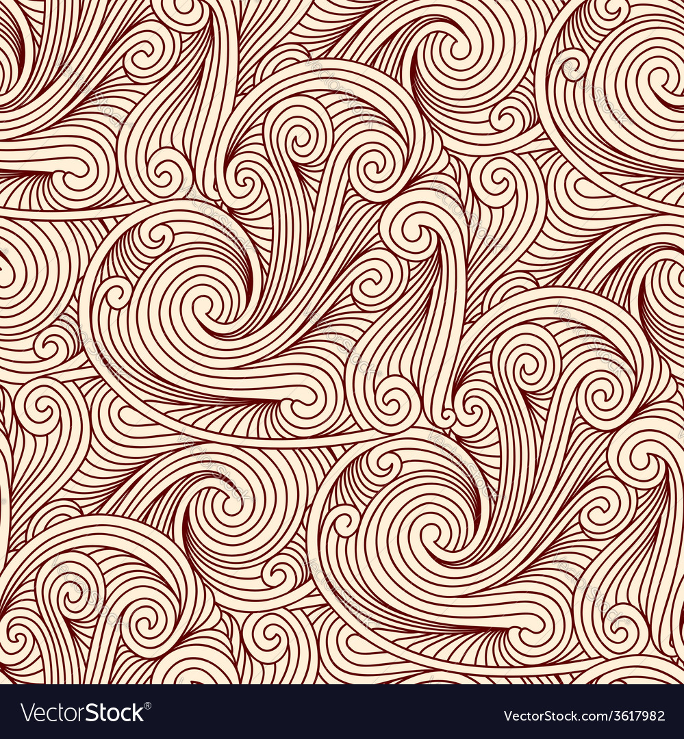 Seamless engraving pattern vector | Price: 1 Credit (USD $1)