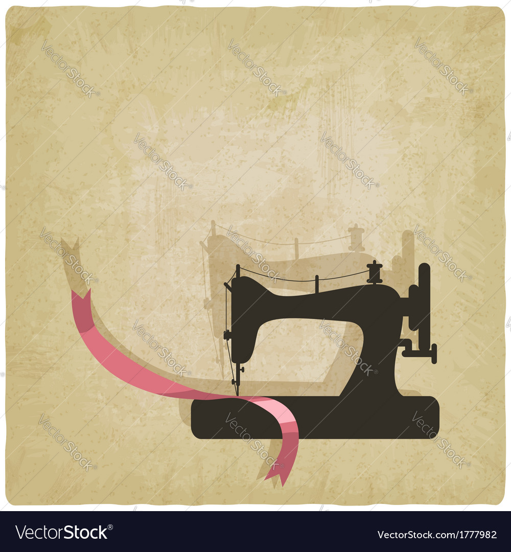 Sewing background vector | Price: 1 Credit (USD $1)