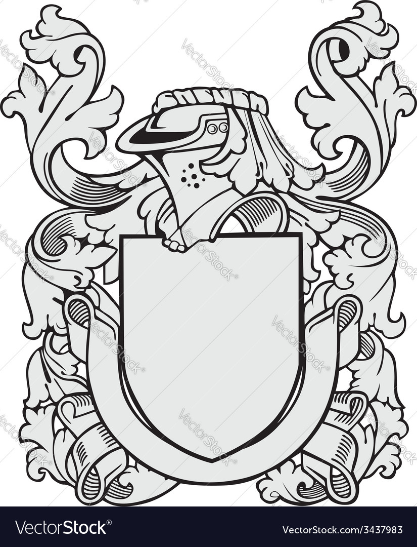 Aristocratic emblem no41 vector | Price: 1 Credit (USD $1)