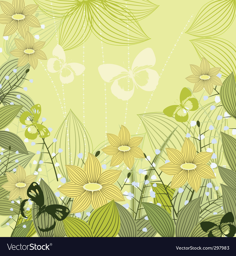Lilies of the valley vector | Price: 1 Credit (USD $1)