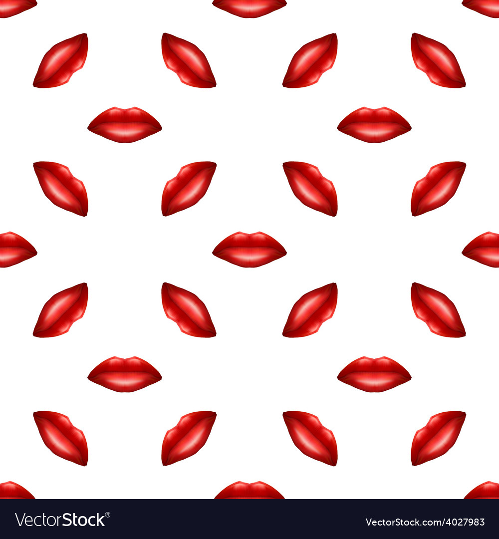 Lip pattern vector | Price: 1 Credit (USD $1)