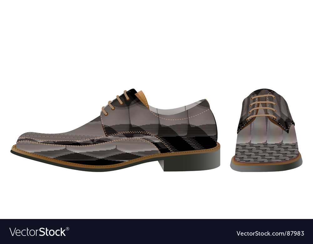 Man shoes vector | Price: 1 Credit (USD $1)