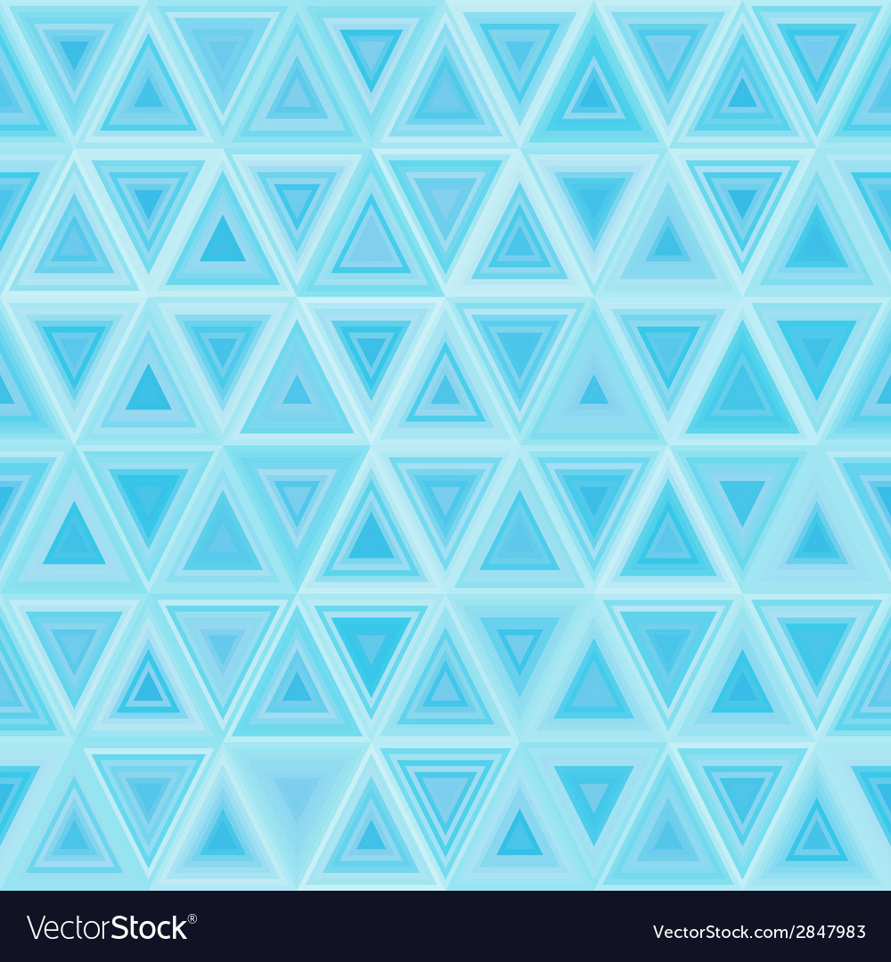 Seamless light blue triangulate pattern vector | Price: 1 Credit (USD $1)