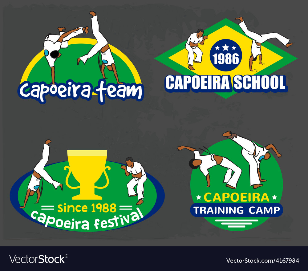 Capoeira logo set vector | Price: 1 Credit (USD $1)