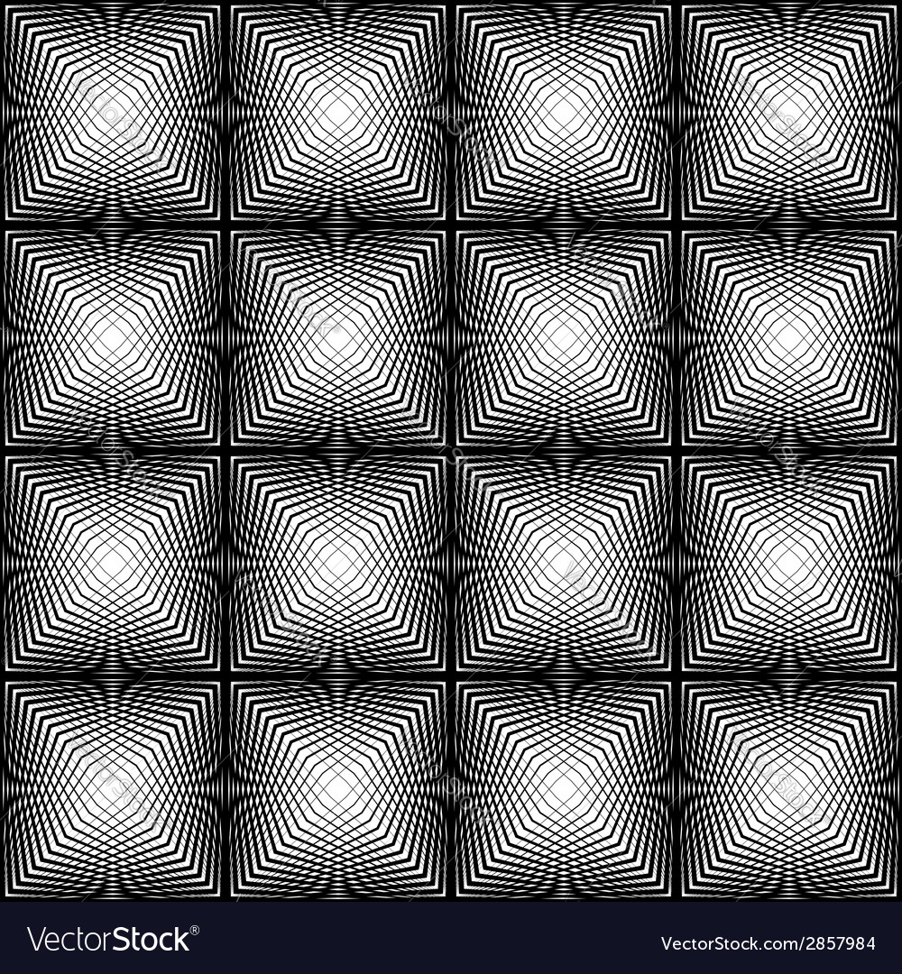 Design seamless square trellised pattern vector | Price: 1 Credit (USD $1)