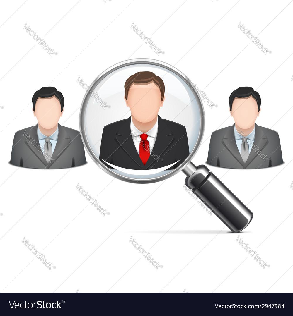 Recruitment concept vector | Price: 1 Credit (USD $1)