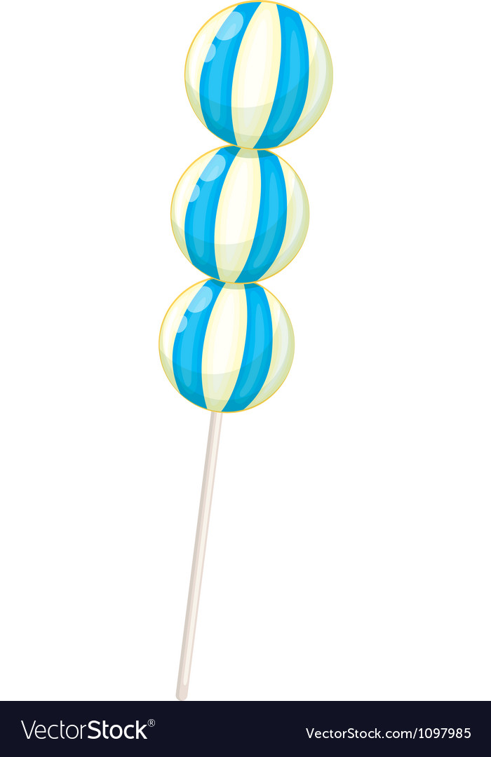 A blue candy vector   Price: 1 Credit (USD $1)