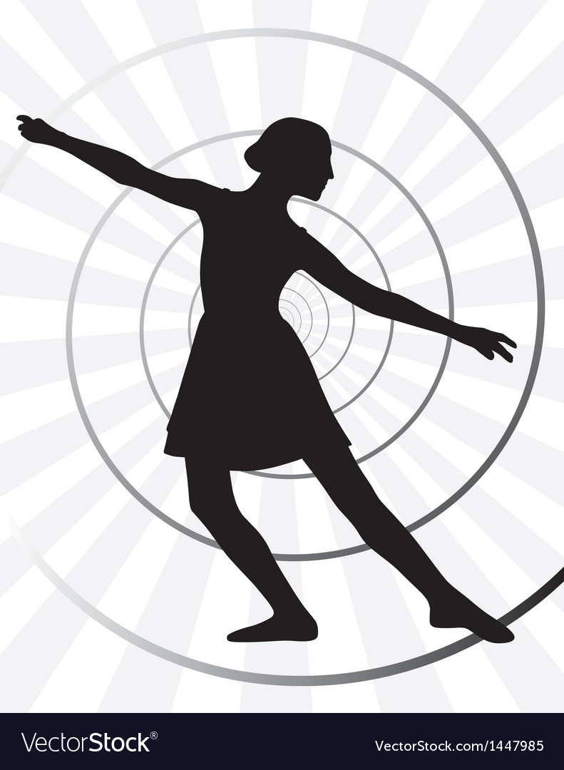 Ballerina motion vector | Price: 1 Credit (USD $1)