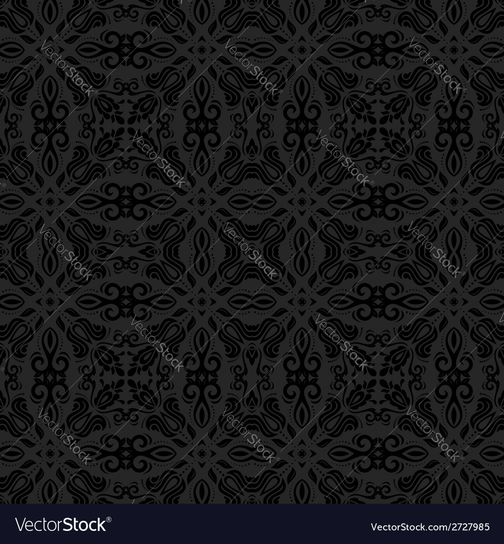 Damask seamless pattern abstract background vector   Price: 1 Credit (USD $1)