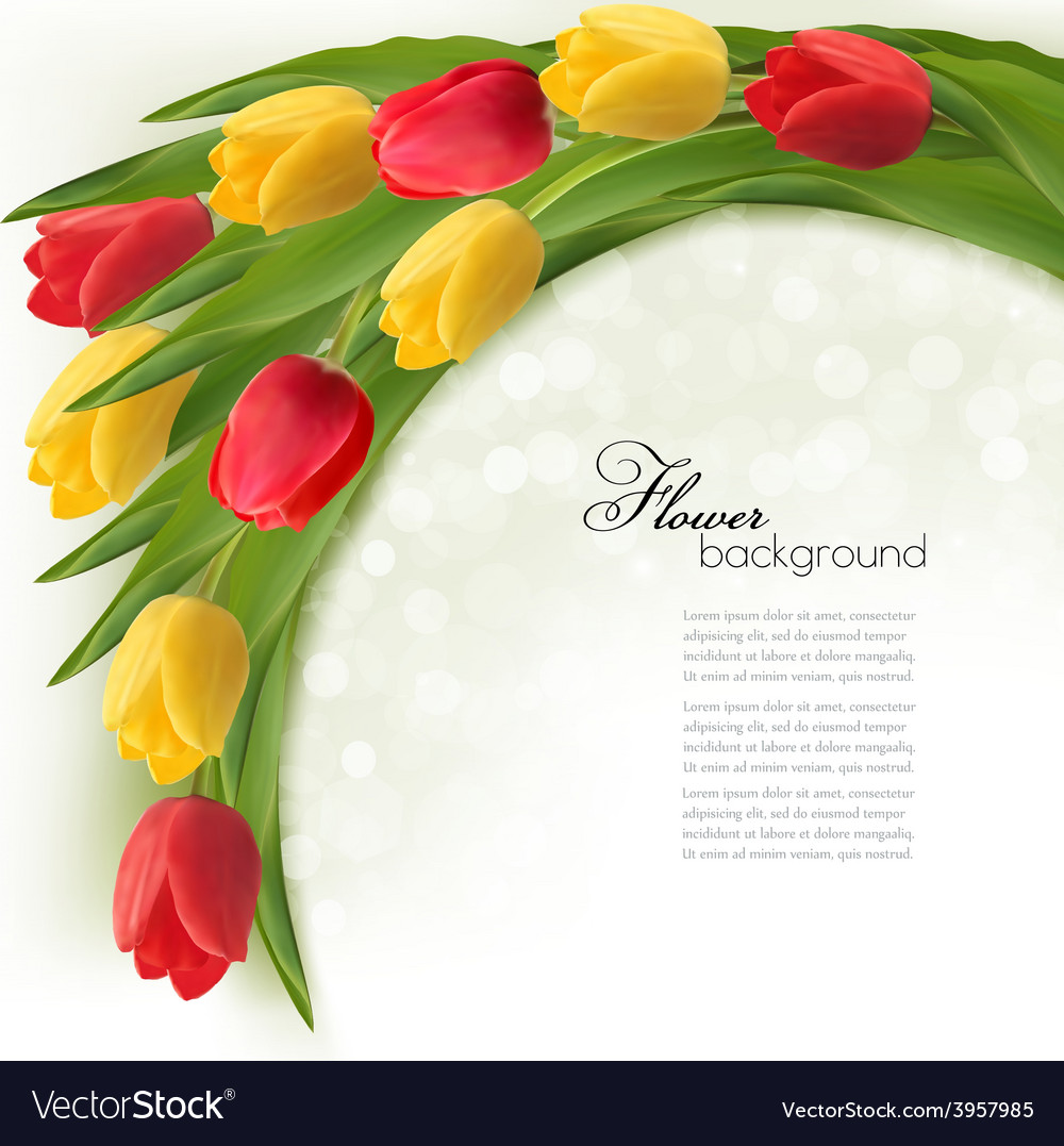 Holiday background with bouquet of colorful vector   Price: 3 Credit (USD $3)