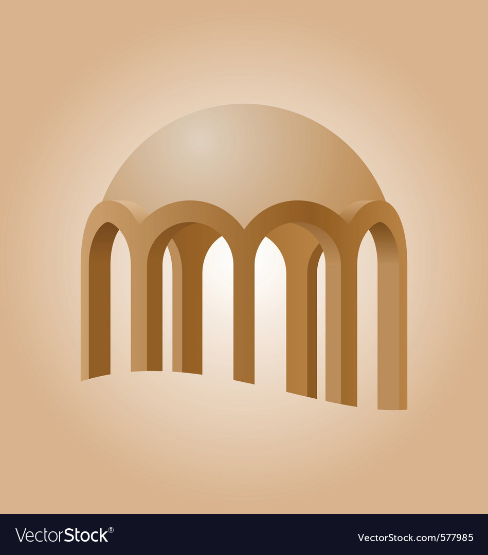 Islamic logo element vector | Price: 1 Credit (USD $1)