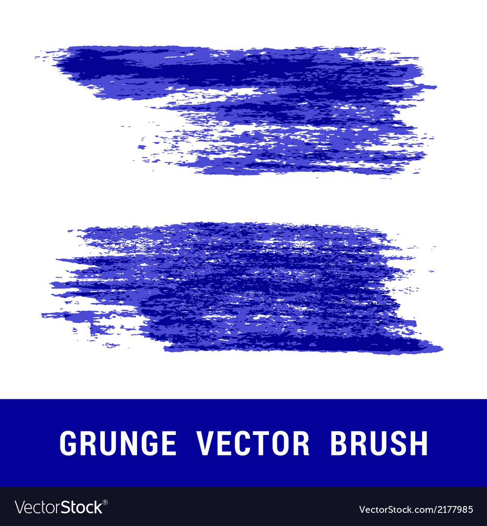 Set of grunge brushes vector | Price: 1 Credit (USD $1)