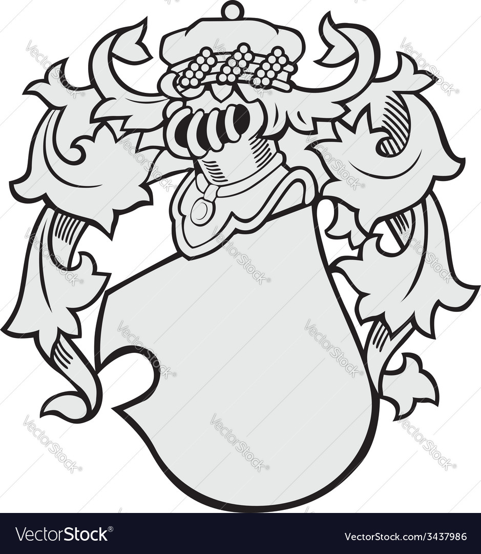 Aristocratic emblem no43 vector | Price: 1 Credit (USD $1)