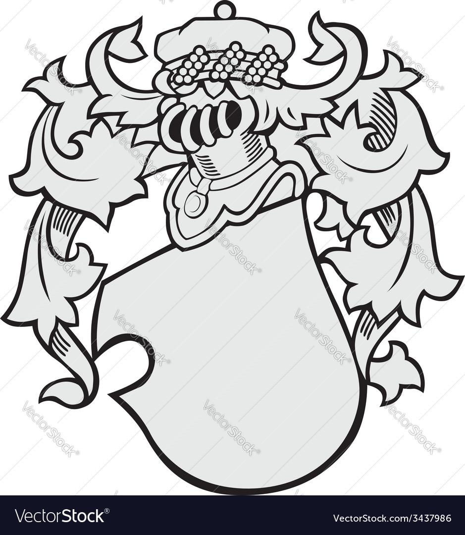 Aristocratic emblem no43 vector | Price: 1 Credit (USD $1)