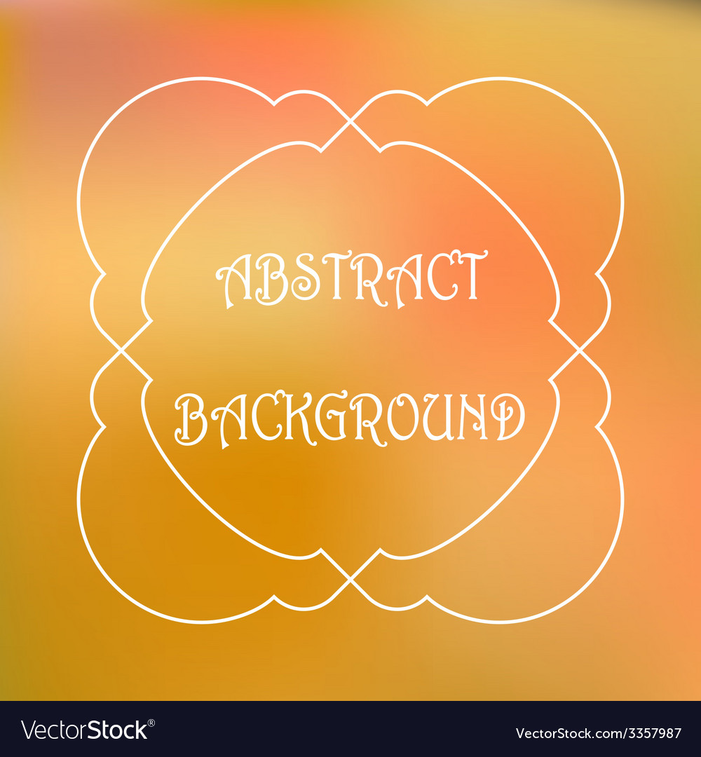 Abstract colorful blurred background can use for vector | Price: 1 Credit (USD $1)