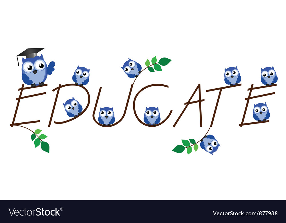 Educate vector | Price: 1 Credit (USD $1)