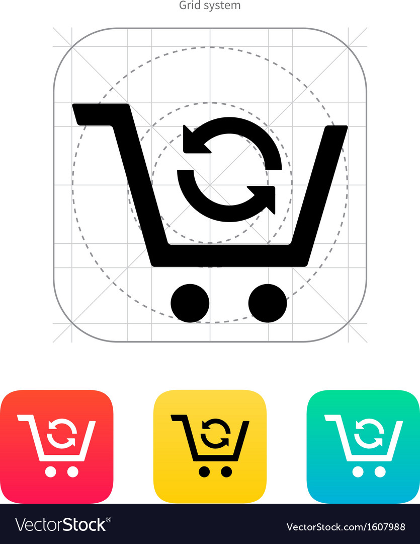 Exchange of product icon vector | Price: 1 Credit (USD $1)