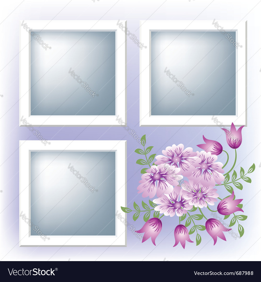 Page layout photo album vector | Price: 1 Credit (USD $1)