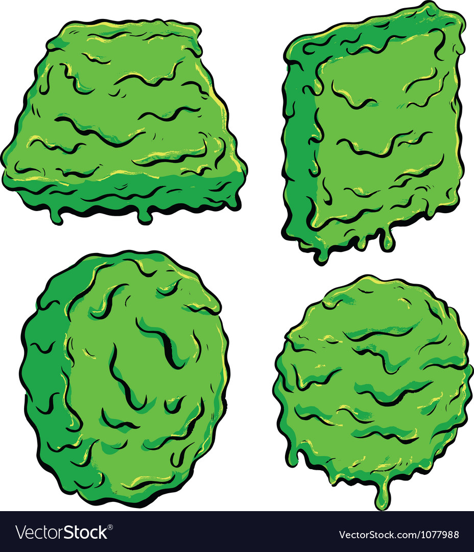 Slimy shapes vector | Price: 1 Credit (USD $1)