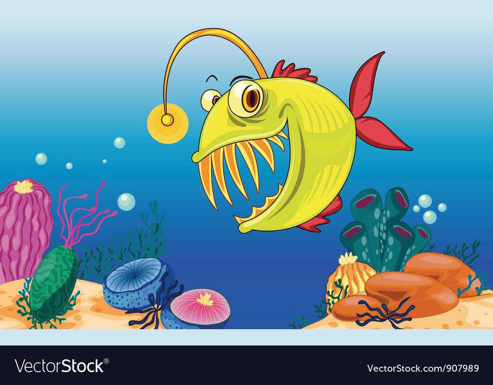 Angler fish vector   Price: 3 Credit (USD $3)