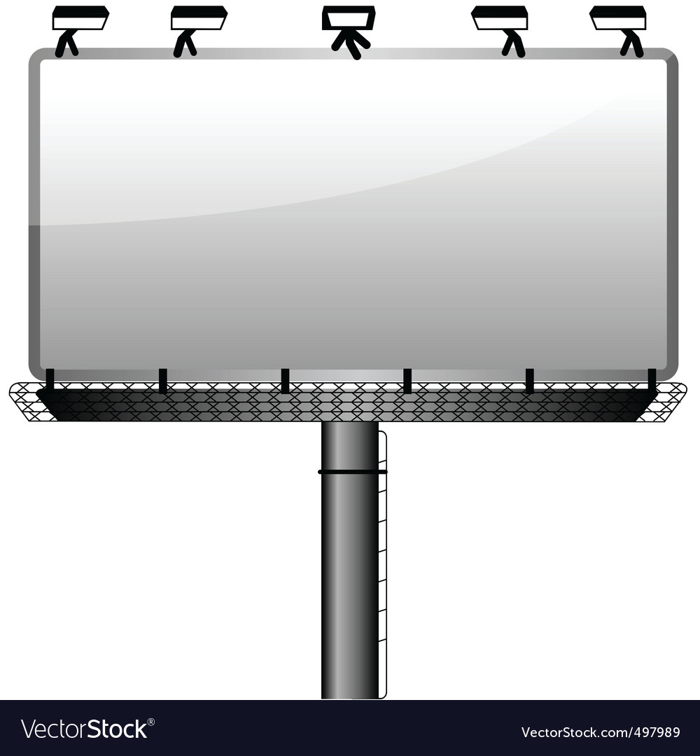 Bill board vector | Price: 1 Credit (USD $1)