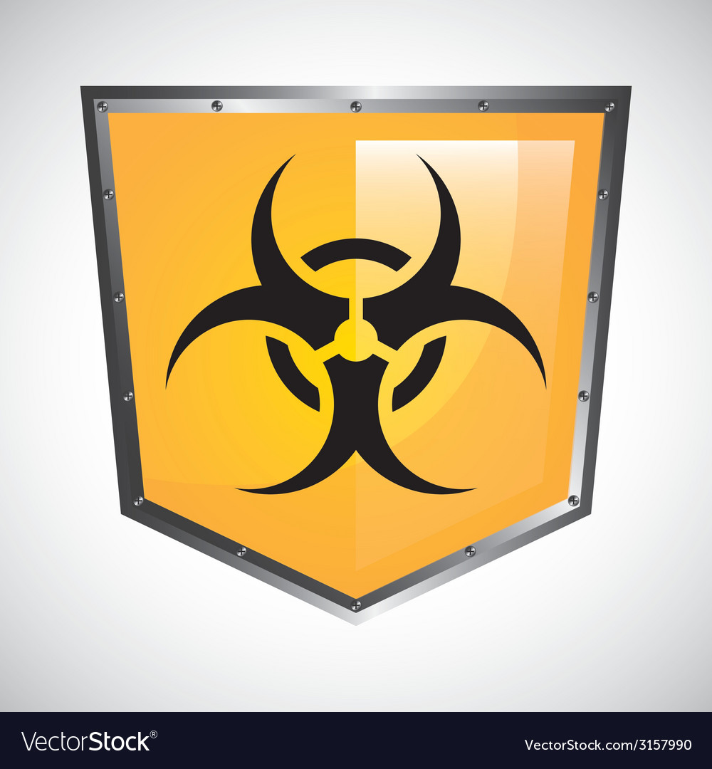 Biohazard design vector | Price: 1 Credit (USD $1)