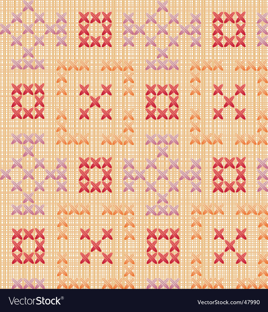 Embroidered pattern vector | Price: 1 Credit (USD $1)
